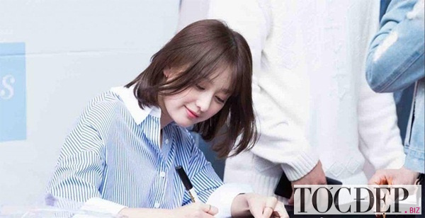 Tóc ngang vai Song Hye Kyo
