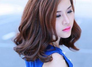 Kiểu tóc xoăn ngang vai thịnh hành