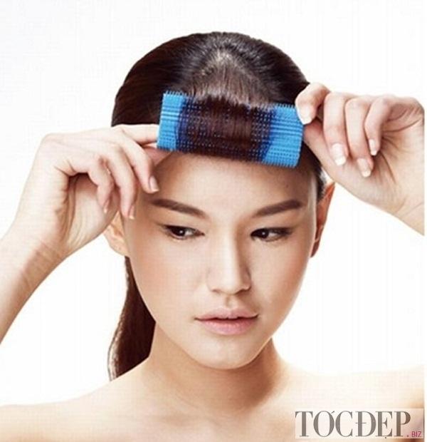 Sử dụng lô quấn tóc