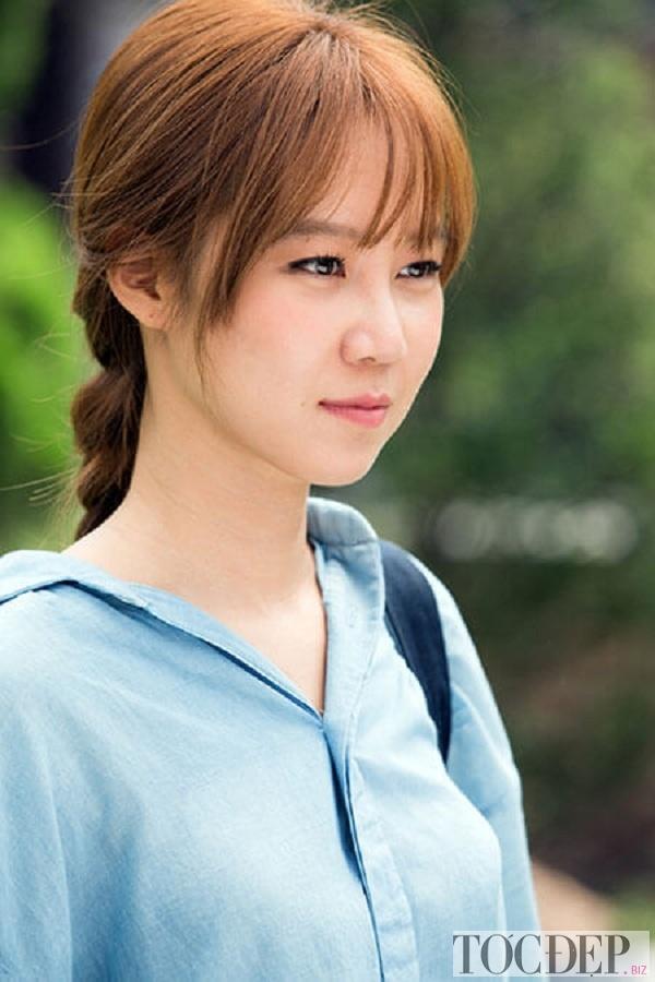 Tóc mái thưa gong hyo jin