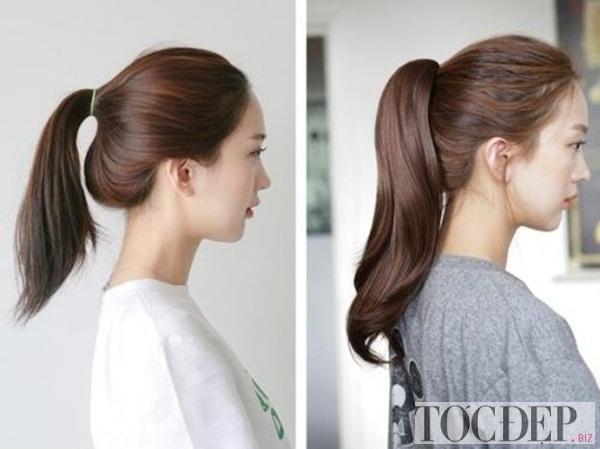 tóc mái cho khuôn mặt tròn