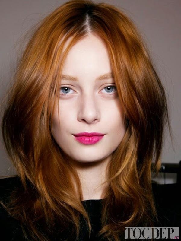tóc mái hợp với mặt dài