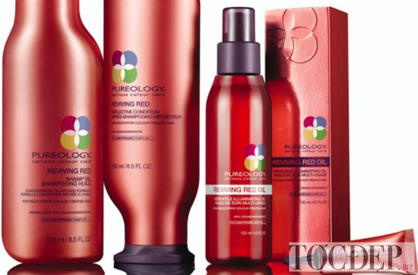 sản phẩm cho tóc nhuộm đỏ