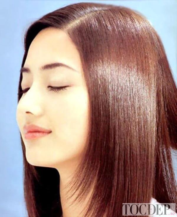 tóc hạt dẻ ánh đỏ