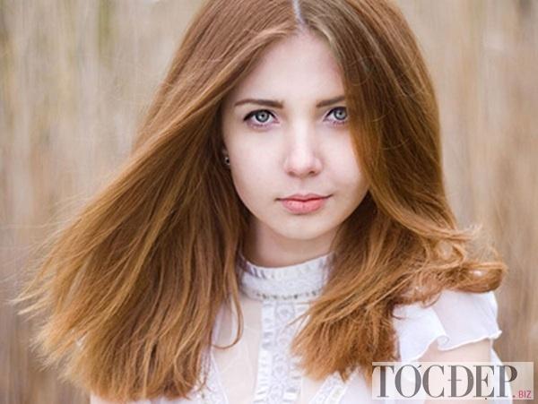 tóc màu nâu hạt dẻ