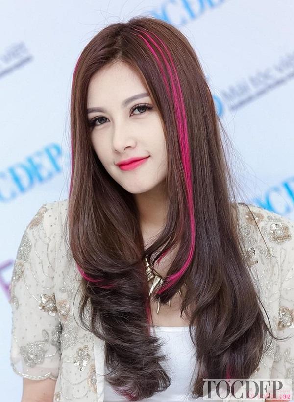 bảng màu tóc