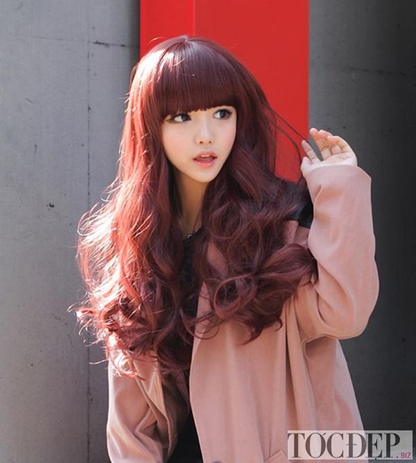 các màu tóc làm sáng da