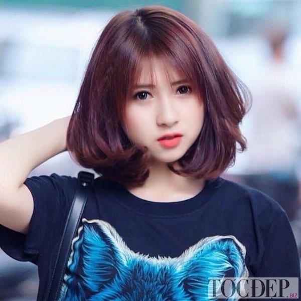 tóc nâu đỏ