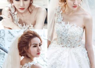 màu tóc đẹp cho cô dâu