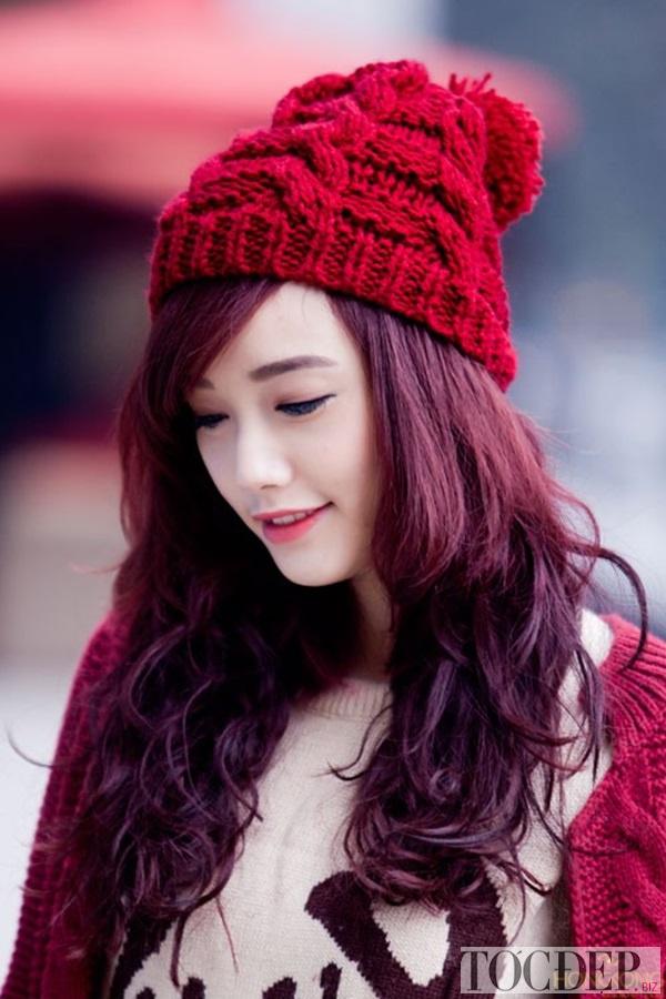 nâu ánh đỏ