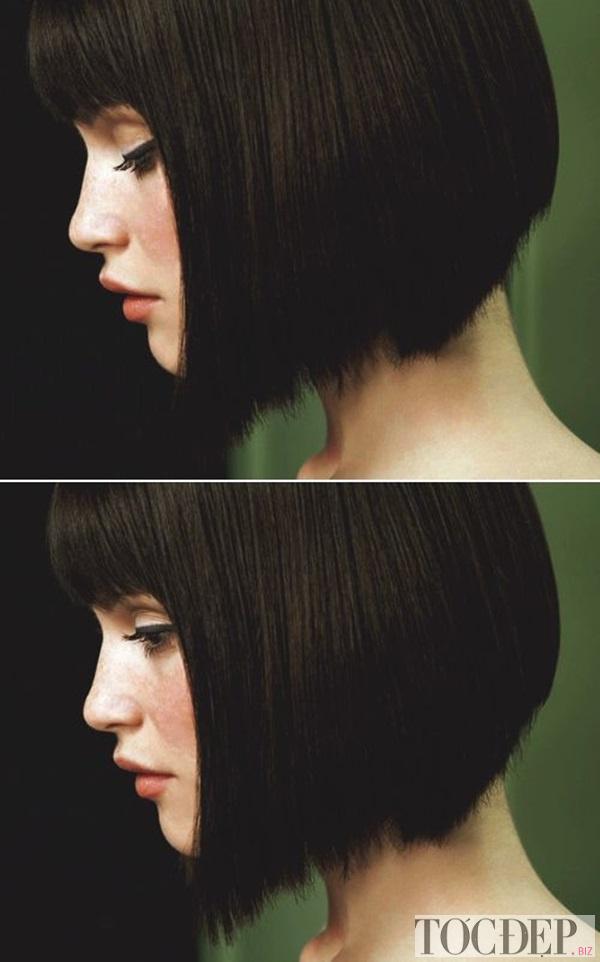 nhuộm tóc màu đen tự nhiên