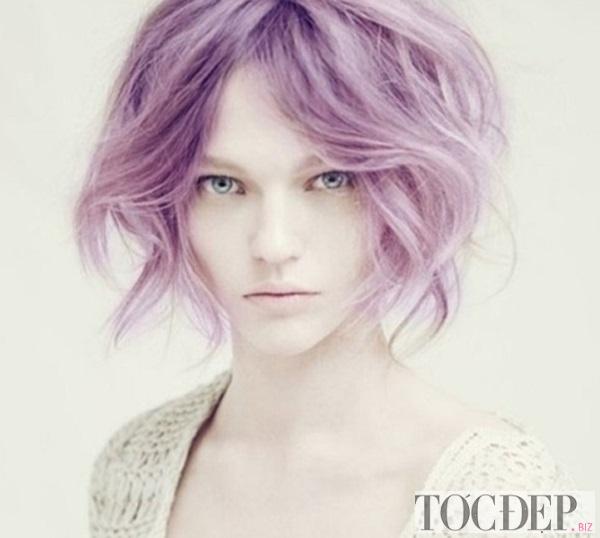 tóc ngắn nên nhuộm màu gì