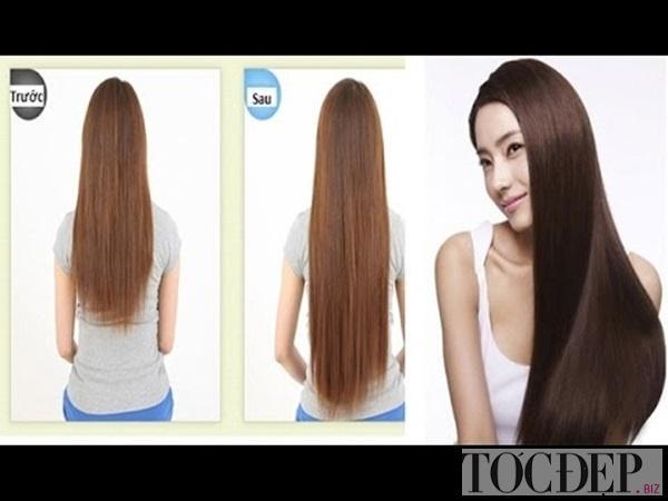 cách làm tóc nhanh dài tự nhiên